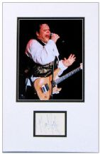 Meat Loaf Autograph Signed